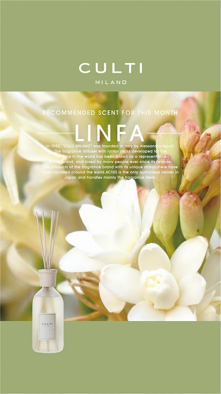 s-【POP】CULTI おすすめの香り 2104 LINFA 画像